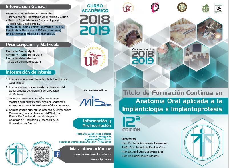 Inauguración Postgrado - Clínica dental en Sevilla